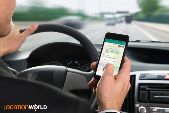 Texting Behind the Wheel Increases the Possibility of an Accident by Six Times