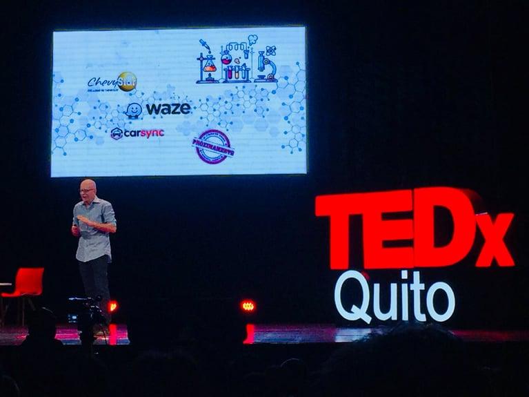 """""""Emprender no es un tema de dinero, es una forma de vida"""" TEDx Quito"""
