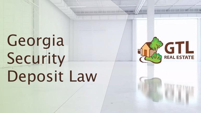 Georgia Security Deposit Law