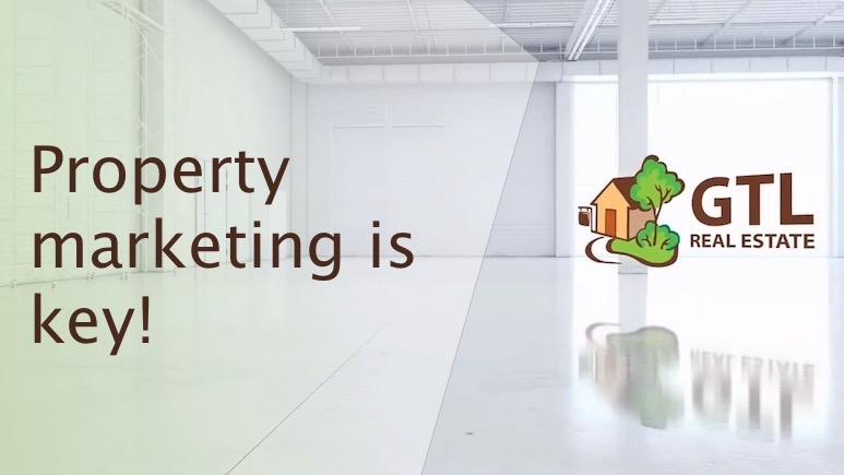 Property marketing is key!
