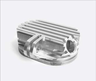 C45 steel cnc component