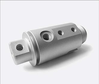 7075 Aluminium cnc component