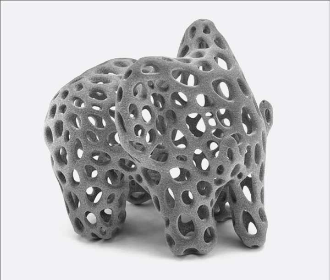 3D printed little elephant