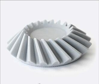 ABS like resin 3D printed component