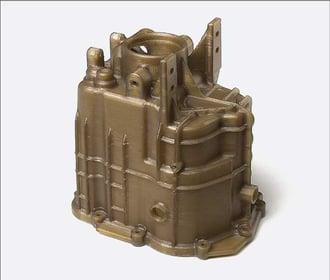 Peek amorphe 3D printed component