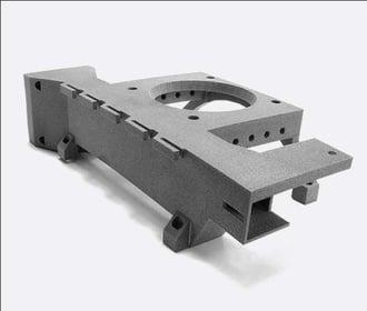 Polypropylene 3D printed component
