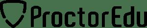 ProctorEdu-ロゴ-黒