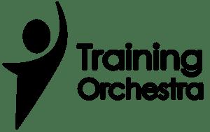 トレーニング・オーケストラ・ロゴ・ブラック