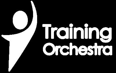 トレーニング・オーケストラ・ロゴ・ホワイト