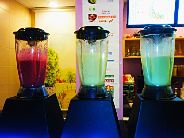 smoothies in korea