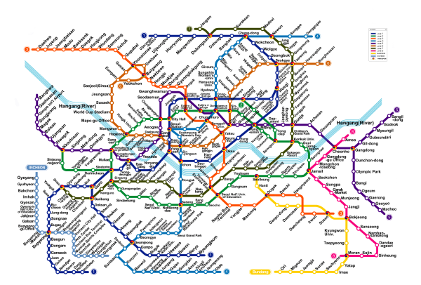 Seoul Subway Map resized 600