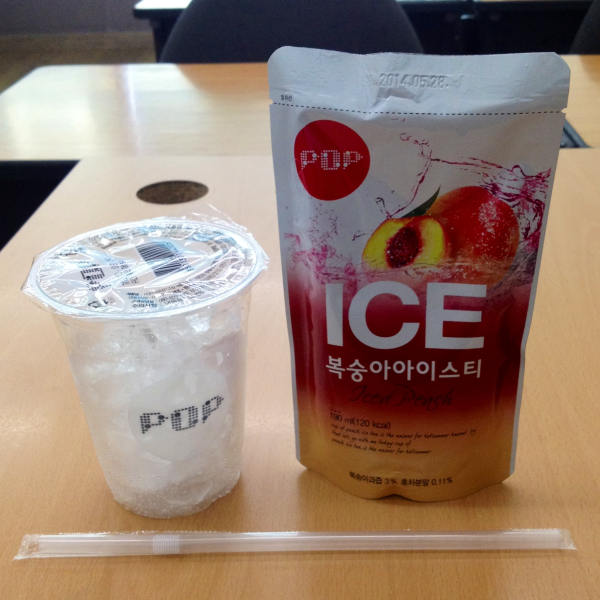 ice cup korea summer