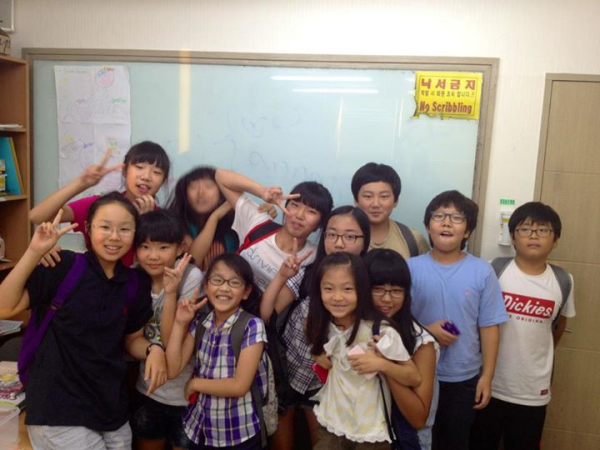 happy korean class korea