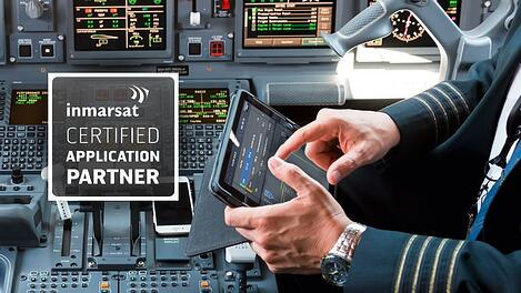 PACE application certified to provide real-time flight optimization updates using Inmarsat SB-S platform