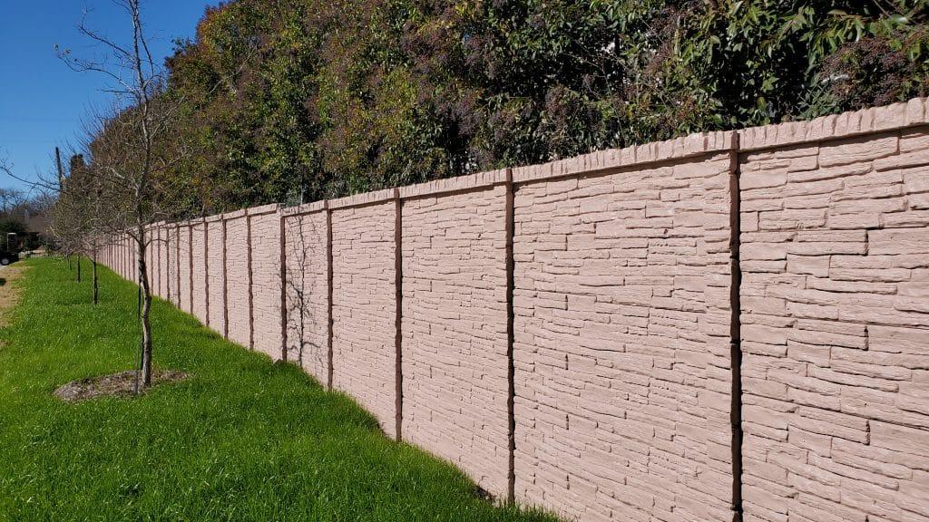Precast Concrete Fence McKinney Texas