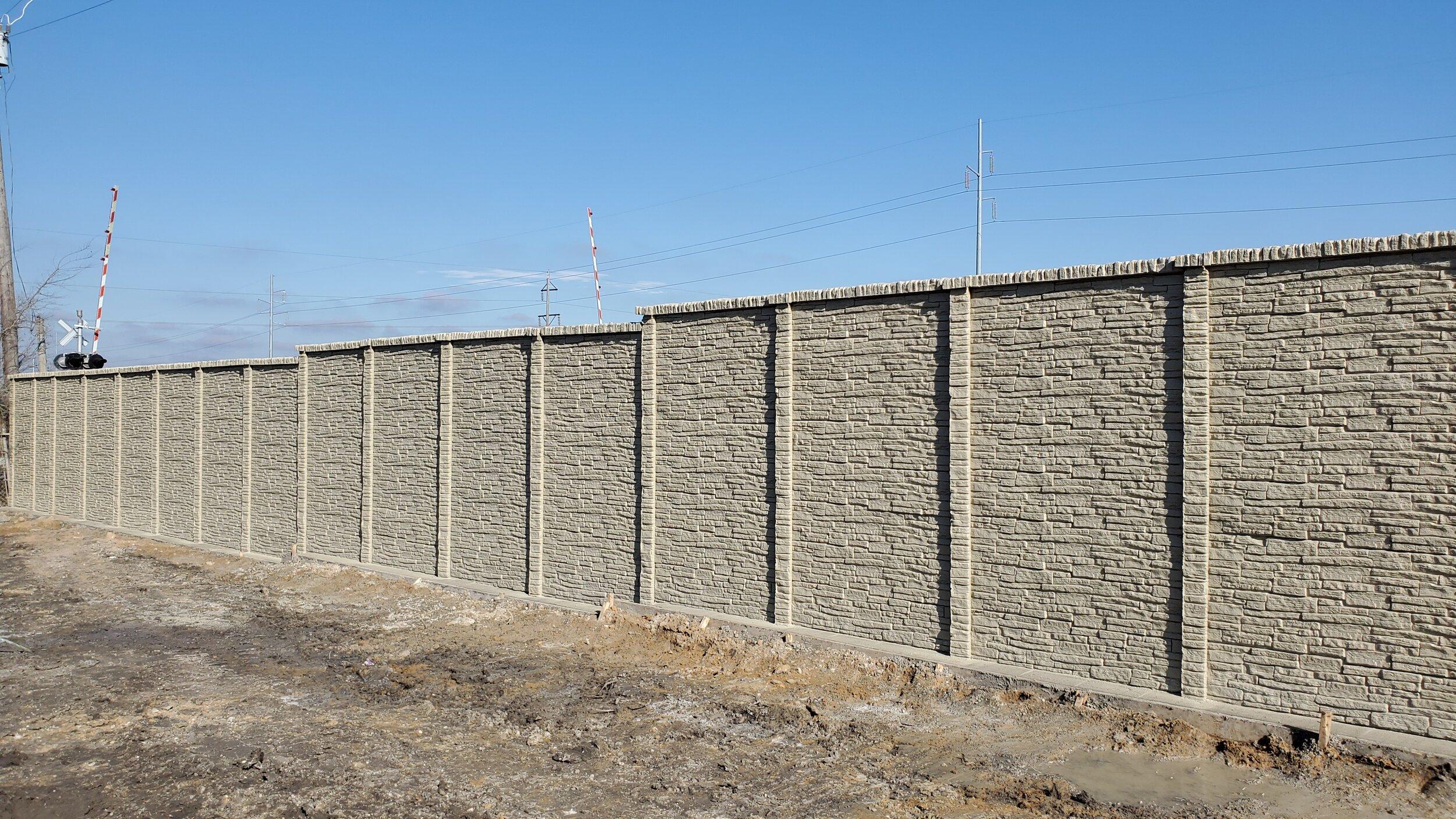 Precast Concrete Fence