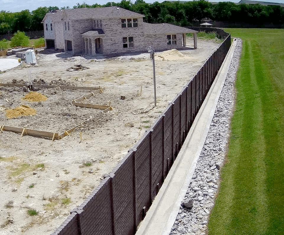 Precast Concrete Fence DFW OldBrick