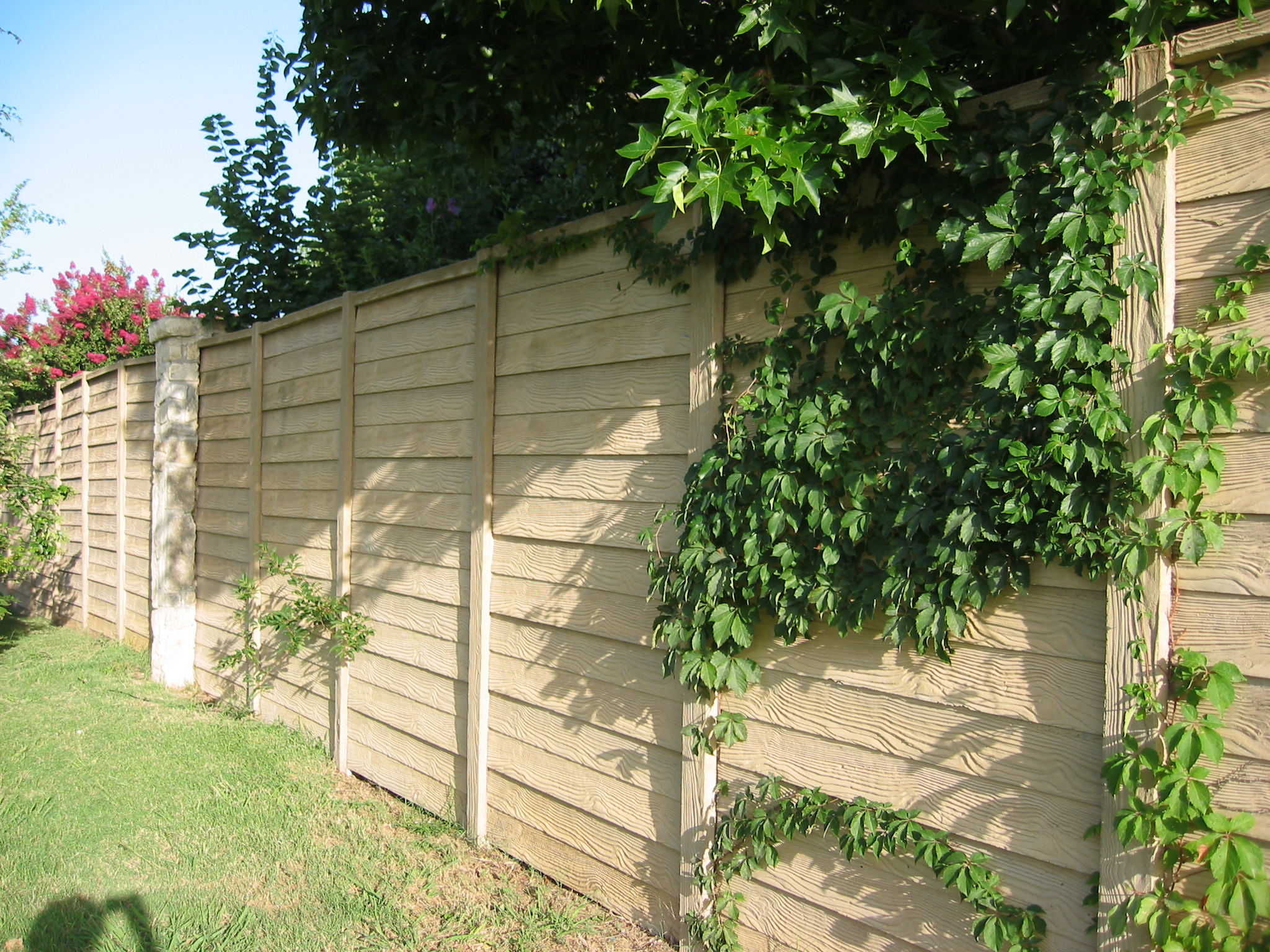 Precast Concrete Fence Fort Worth TX