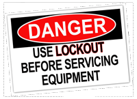 Lockout Danger200