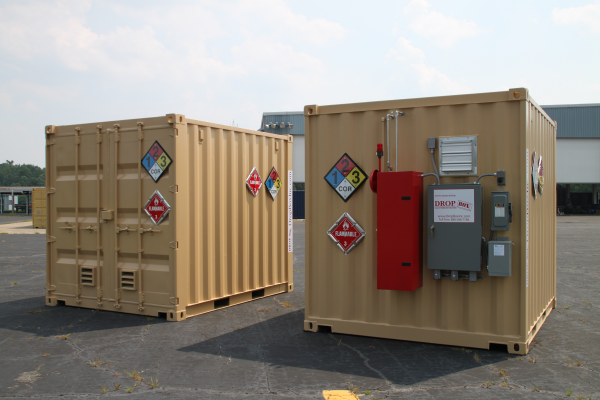 chemical storage, moudlar chemical storage, portable chemical storage