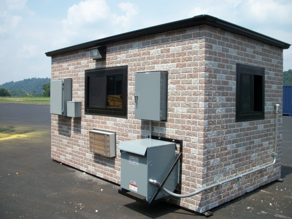 modular guard shack, portable guard shack, modular guardhouse, portable guardhouse, modular guard office, portable guard office