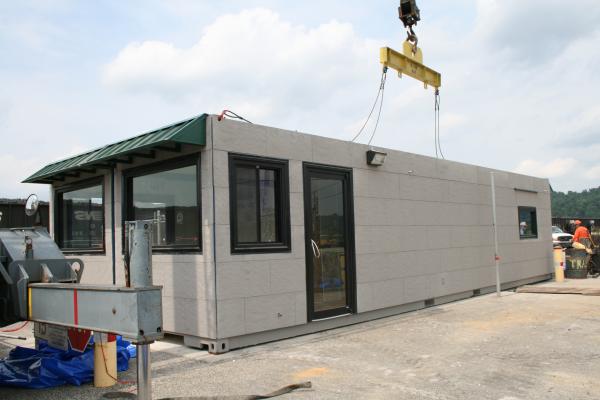 dropbox inc, modular building, containerized building, shipping container building