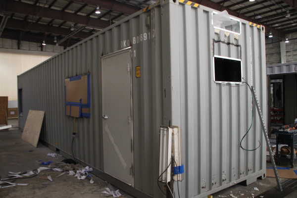 custom container modification,custom shipping container modification,milvan modification,connex container modification,conex container modification,ISO Shipping container modifications,DropBox Inc,shipping container modifications