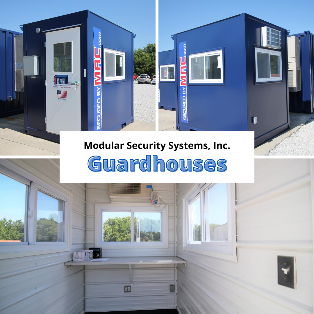 shipping container modification, ISO Shipping container modifications, ISO Shipping container, Shipping container, ISO shipping container modification, MSSI, Modular Security Systems, Inc., guardhouses