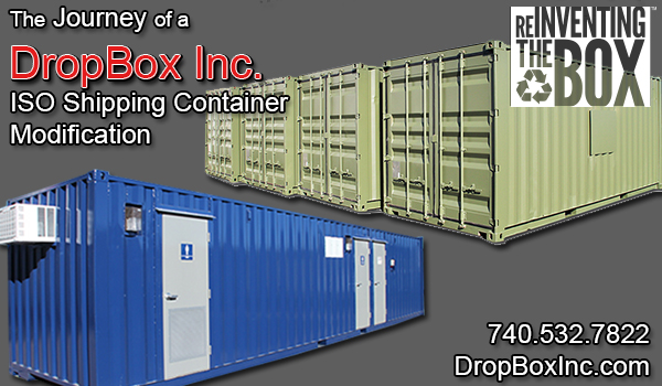 shipping container modification, DropBox Inc, ISO Shipping container, custom ISO shipping container modification, ISO shipping container modification, shipping container modification design, shipping container modification engineering, Portable Solutions Manufacturing, shipping container modification manufacturing, journey of a shipping container modification