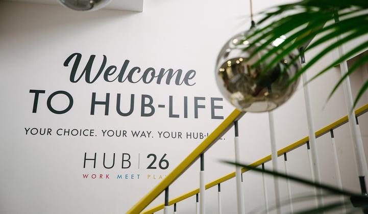 HUB26: 13 Reasons Why Companies Grow Here!