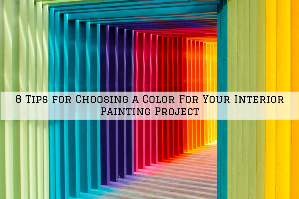 8 Tips for Choosing a Color For Your Interior Painting Project in Omaha, NE