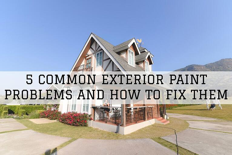 5 Common Exterior Paint Problems And How To Fix Them in Omaha, NE