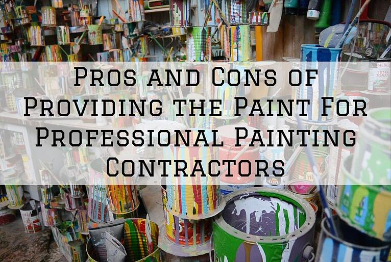 Pros and Cons of Providing the Paint For Professional Painting Contractors in Omaha, NE