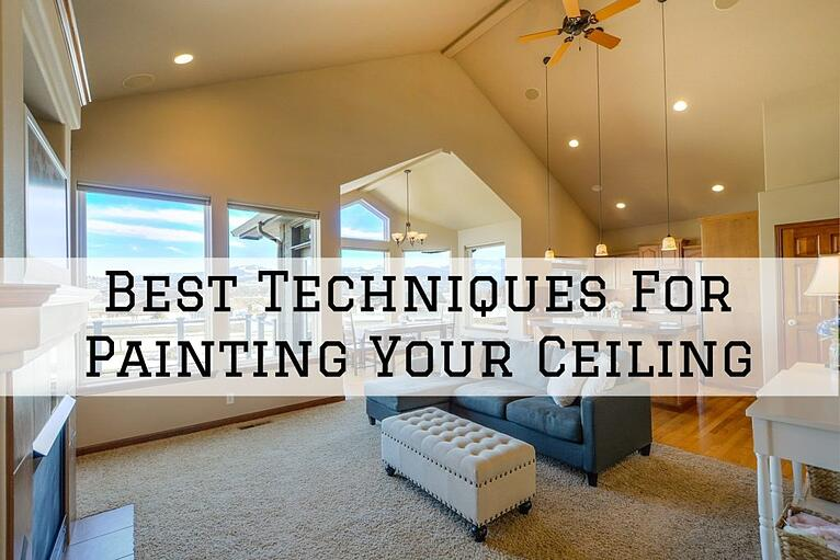 Best Techniques For Painting Your Ceiling in Omaha, NE