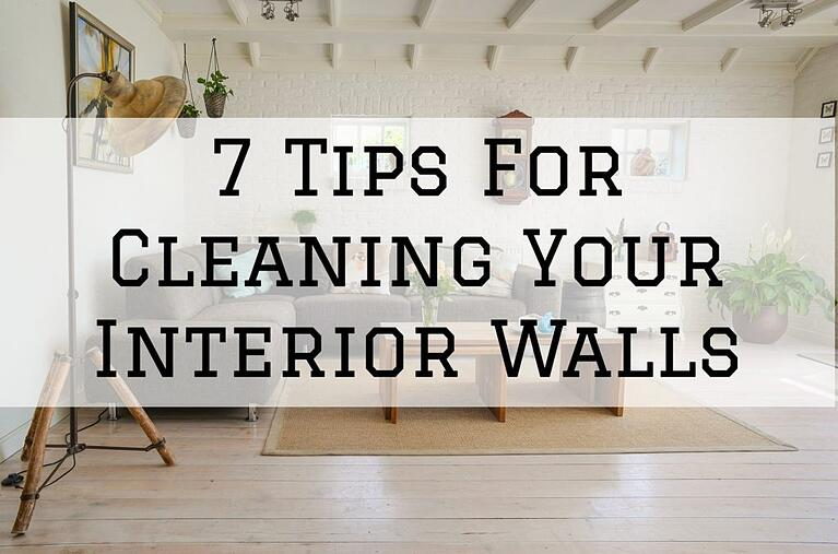 7 Tips For Cleaning Your Interior Walls in Omaha, NE
