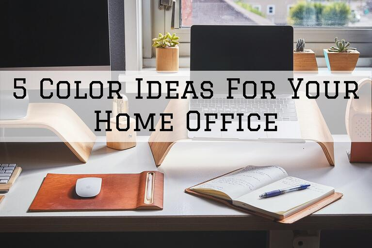 5 Color Ideas For Your Home Office in Omaha, NE