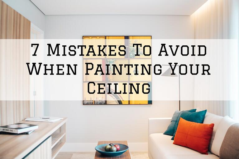 7 Mistakes To Avoid When Painting Your Ceiling in Omaha, NE