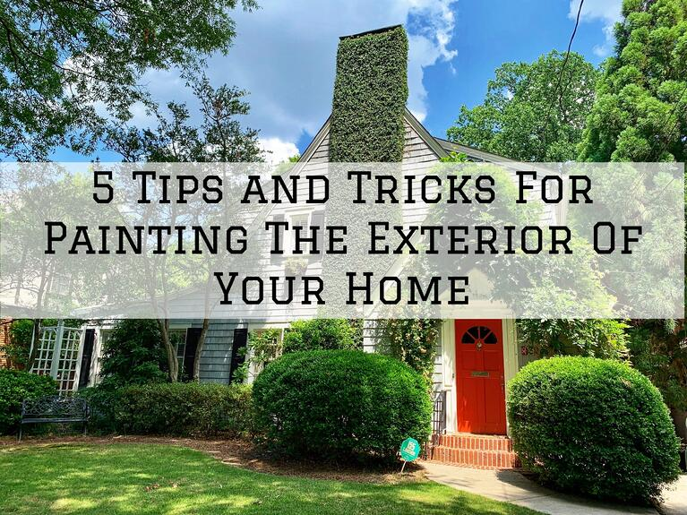 5 Tips and Tricks For Painting The Exterior Of Your Home in Omaha, NE
