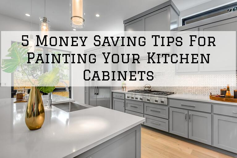 5 Money-Saving Tips For Painting Your Kitchen Cabinets in Omaha, NE