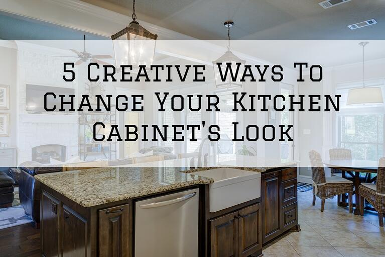 5 Creative Ways To Change Your Kitchen Cabinet's Look in Omaha, NE
