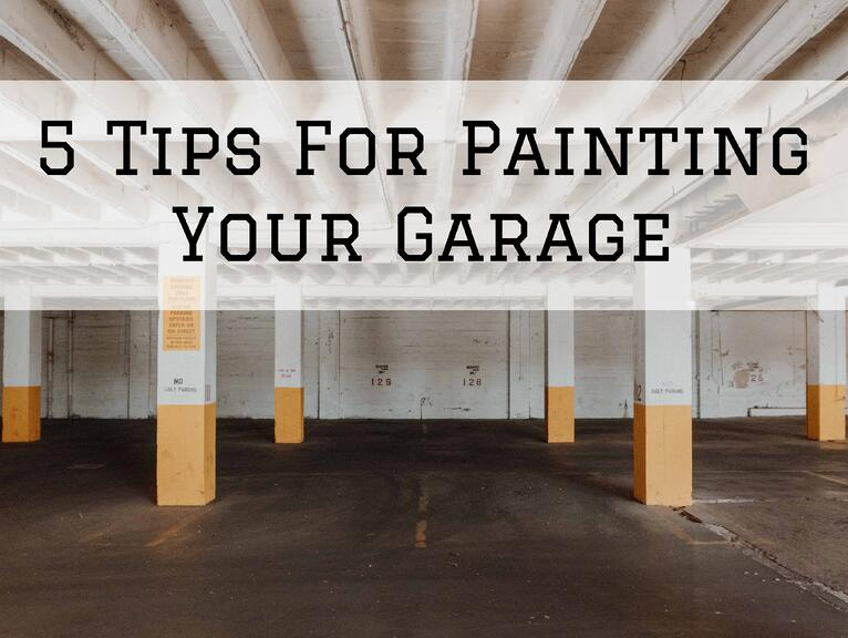 5 Tips For Painting Your Garage in Omaha, NE