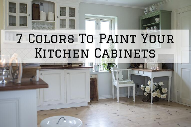 7 Colors to Paint Your Kitchen Cabinets in Omaha, NE