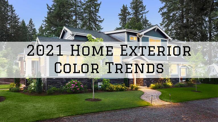 2021 Home Exterior Color Trends in Omaha, NE