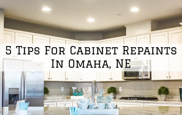 5 Tips For Cabinet Repaints In Omaha, NE