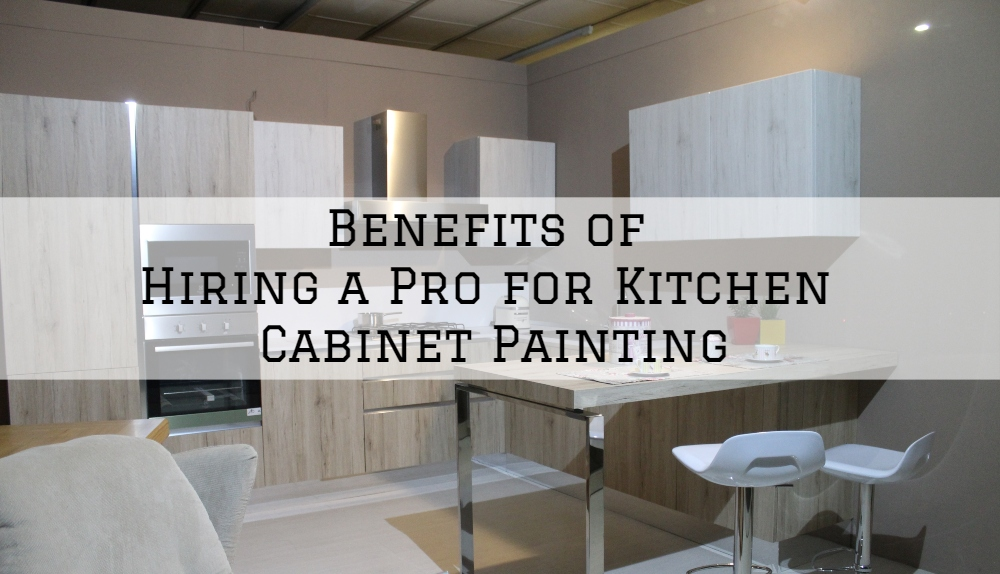 Benefits of Hiring a Pro for Kitchen Cabinet Painting in Omaha, NE.