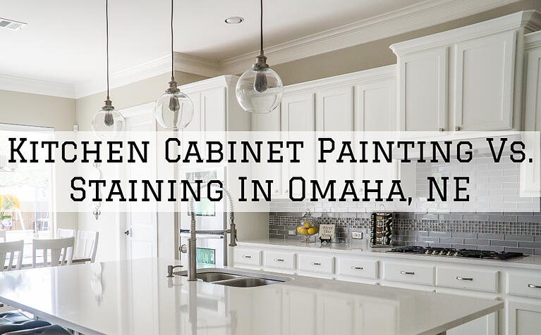 Kitchen Cabinet Painting vs. Staining in Omaha, NE
