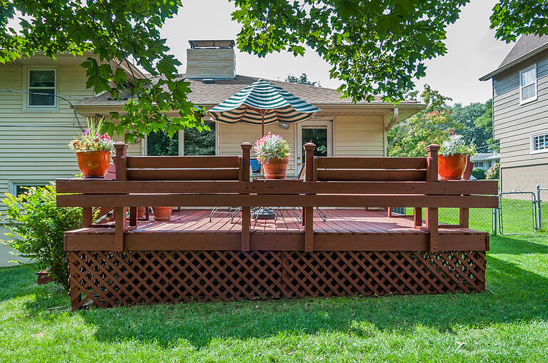 Deck Staining Before & Afters in Omaha, NE