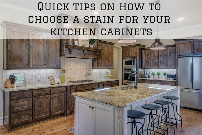Quick tips on how to choose a stain for your kitchen cabinets