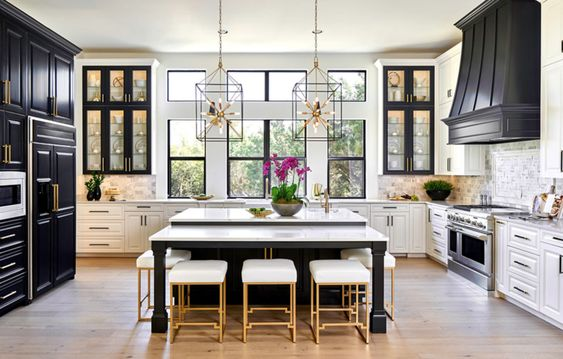 All About Two-Tone Kitchen Cabinets in Omaha, NE