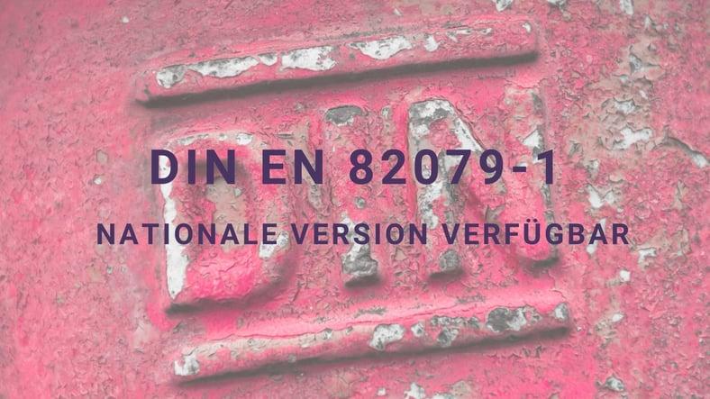 EN IEC/IEEE 82079-1 jetzt auch als deutsche Fassung erhältlich